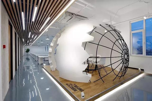 3000平方米办公室装修设计效果图