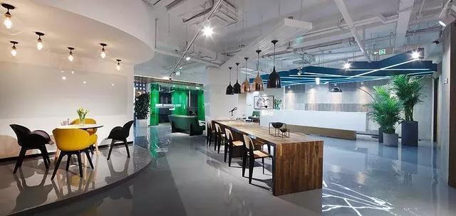 3000平米办公室设计效果图