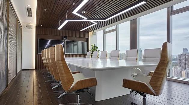 大型办公室设计效果图
