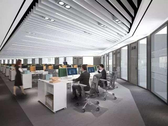 事务所办公室设计图