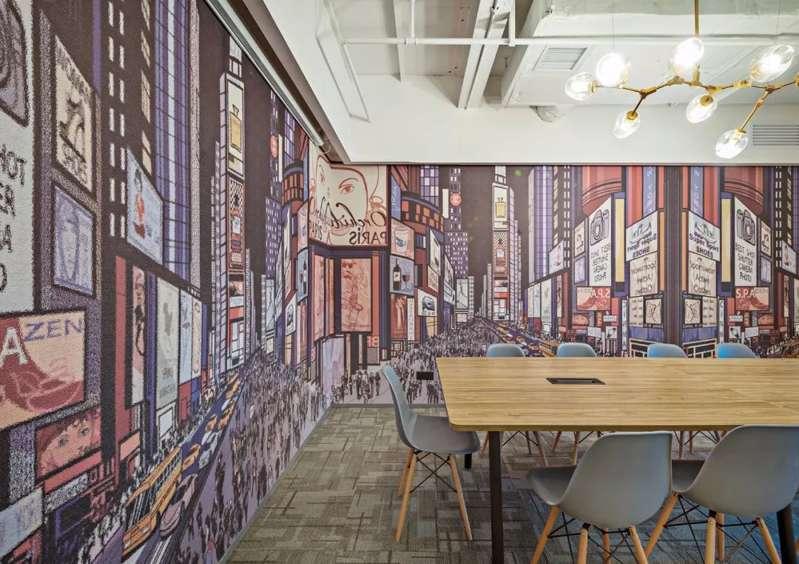 联合共享创业空间装修效果图