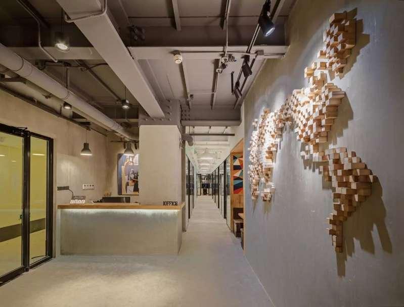 联合共享创业空间装修设计图