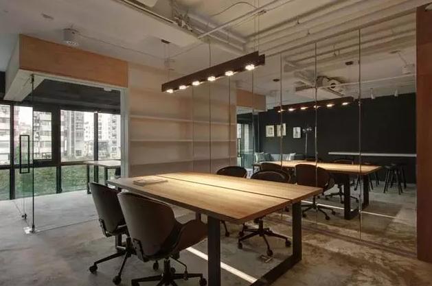 40平米办公室效果图