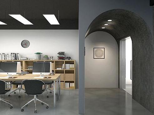 工业风办公室设计效果图