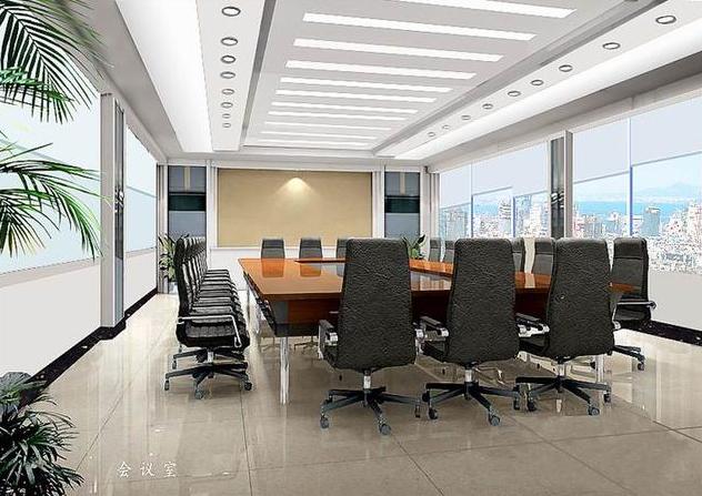 500平方米办公室装设计图