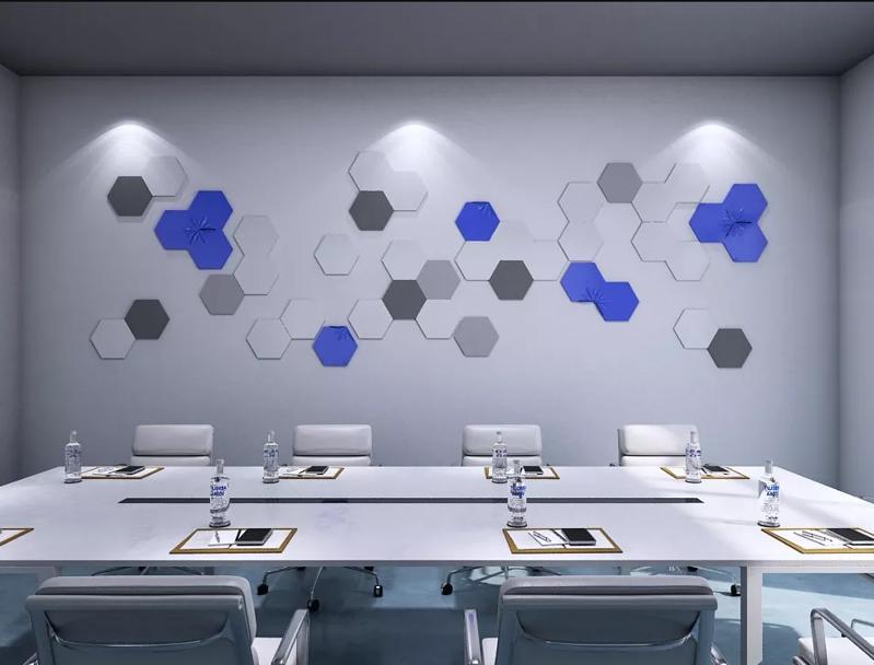 现代简约科技公司办公室装修设计效果图