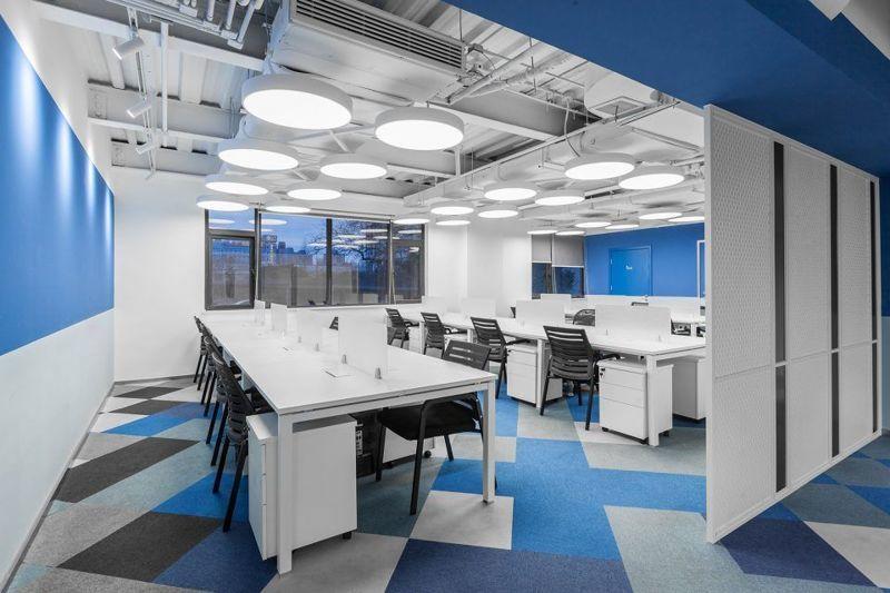 企业办公室装修效果图