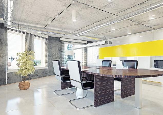 100平方米办公室装修效果图