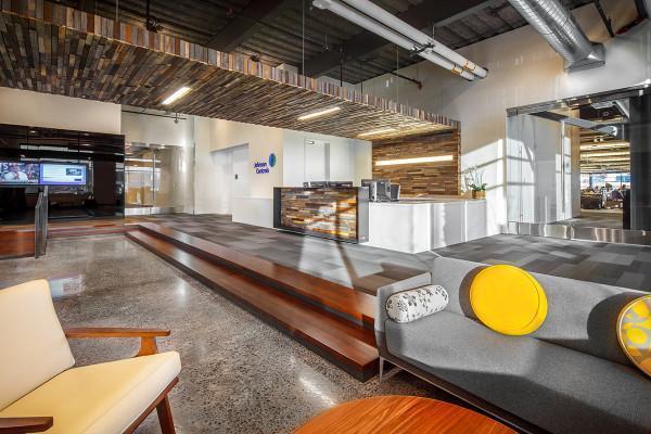 loft风格厂房办公室装修效果图