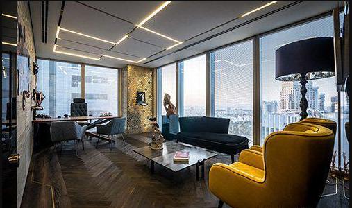 投资理财公司办公室装修设计效果图