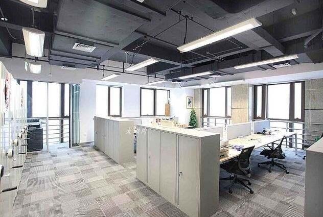 办公室房顶简单装修裸顶图图片