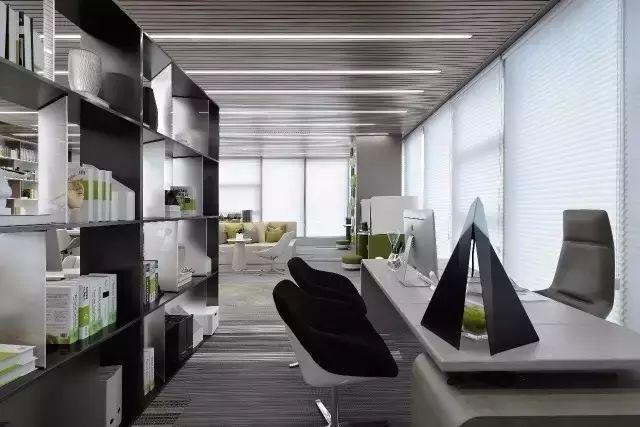 500强公司办公室装修设计图片