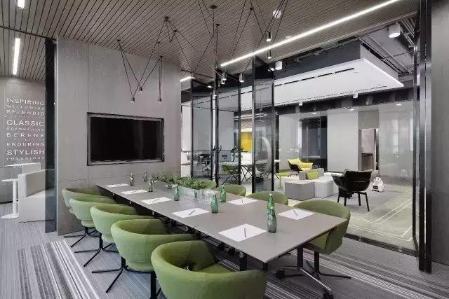 世界500强公司办公室装修设计效果图