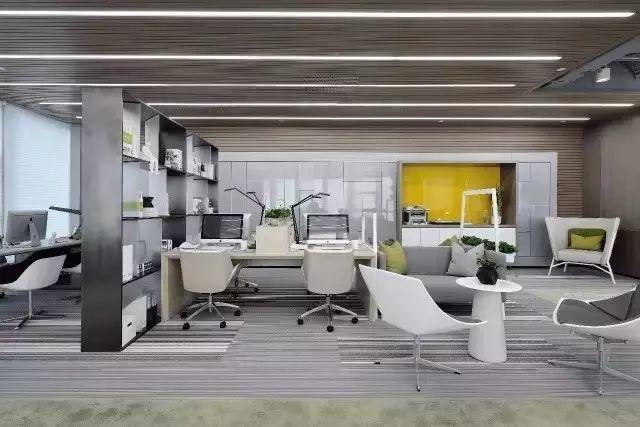 500强公司办公室装修图片