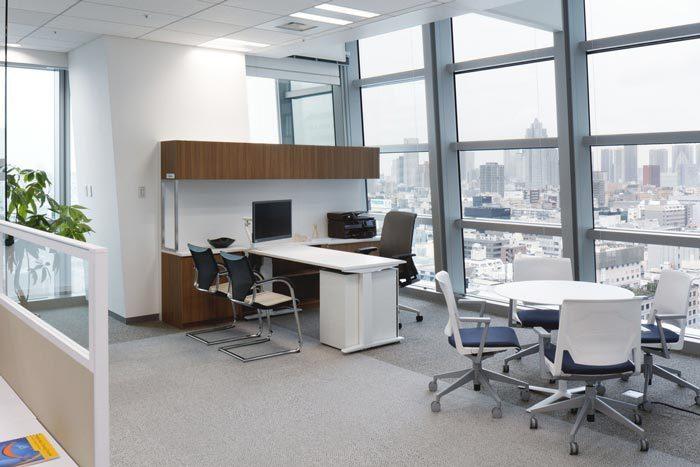 经理办公区装修设计图