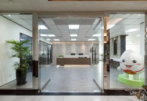 500平写字楼办公室装修效果图