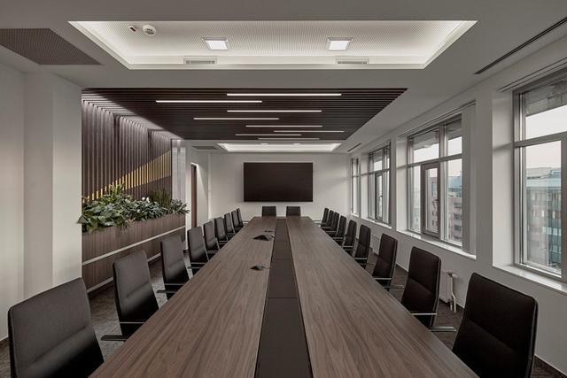 500平方米办公室装修效果图