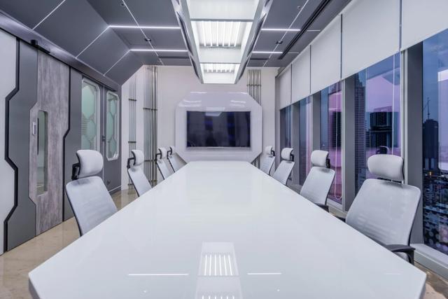 科幻办公室设计效果图