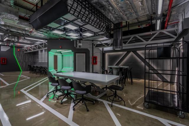 科幻办公室装修图片