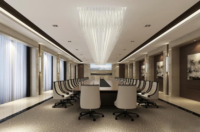 整套办公室空间设计图
