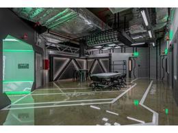 科幻办公室装修设计效果图方案