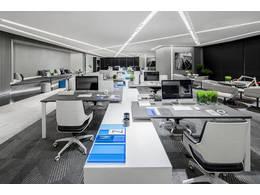 简易办公室装修设计效果图图片