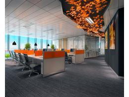 高档办公室装修设计效果图图片