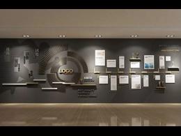 公司高端形象墙装修设计效果图