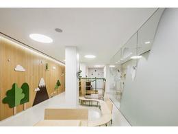 培训学校办公室装修设计效果图