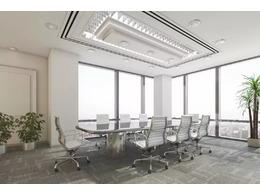 办公会议室装修效果图_办公室会议室装修设计公司