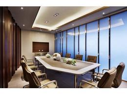 多功能会议室设计装修效果图 多功能会议室装修公司