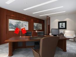 小型老板办公室装修图