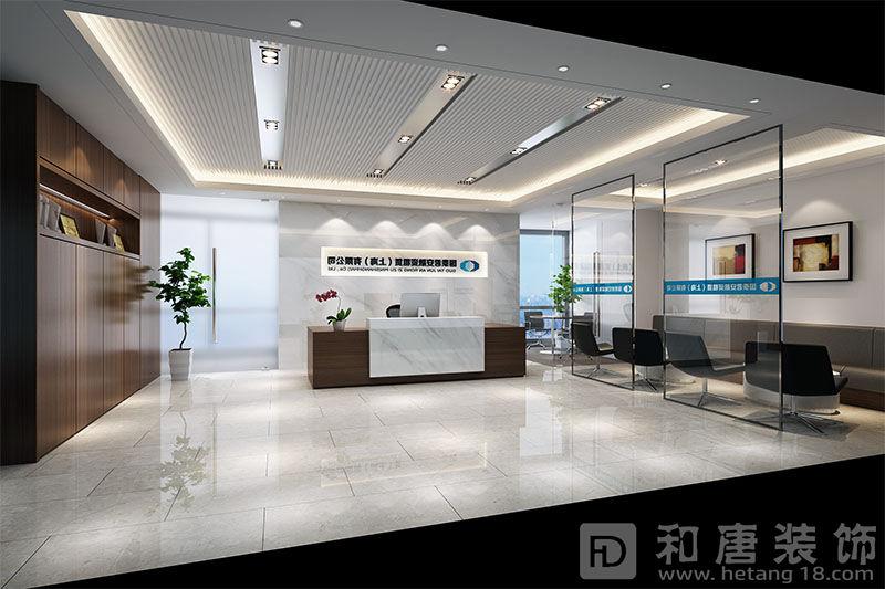 上海国泰君安办公室前台设计效果图.jpg